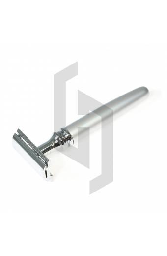 Silver Rocket Handle Safety Razor