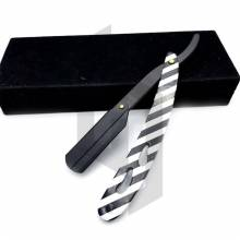 Zebra Paper Coated Straight Shaving Razor
