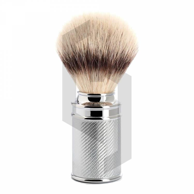 Stainless Shaving Brushes In Knurling