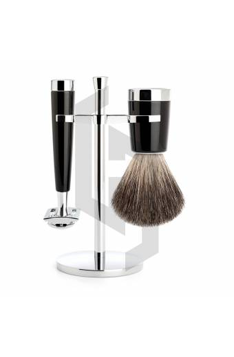 Shave Premium Shaving Set Black/Chrome