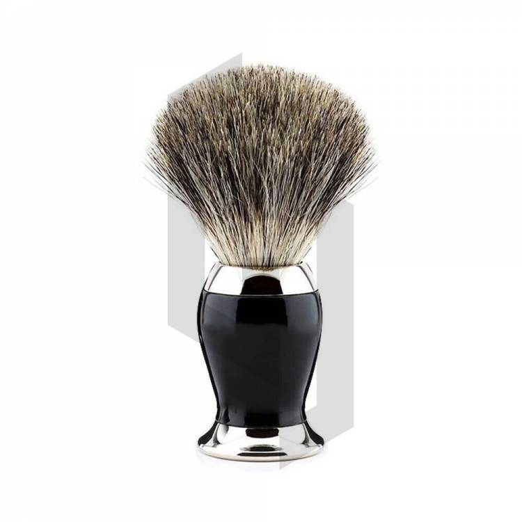Hot Sale Black and Chrome Shaving Brush