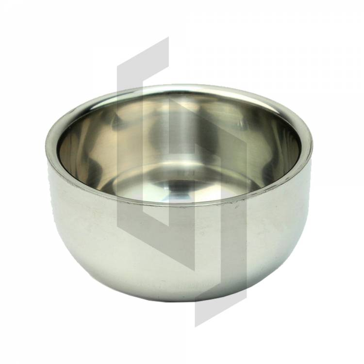 Durable Shave Soap Cup Shinning Stainless Steel Shaving Bowl