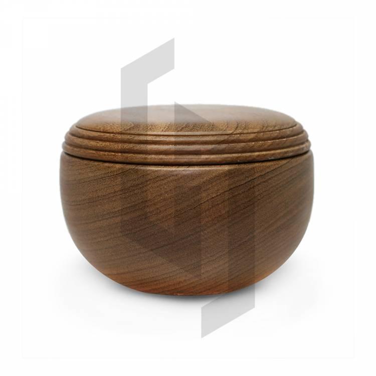 Teak Wood HandCraft Shaving Bowl