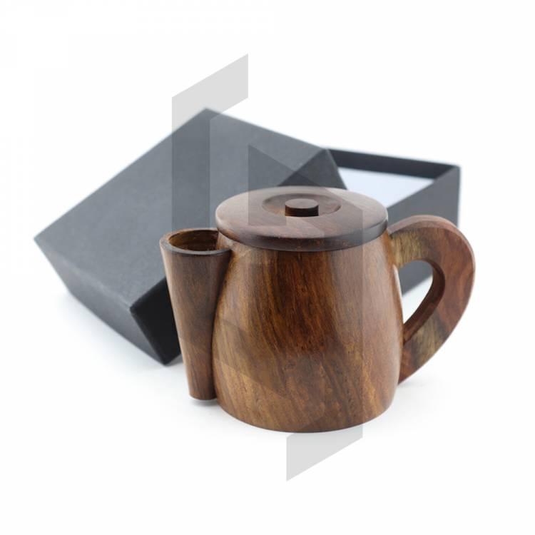 Wood Shaving Mug