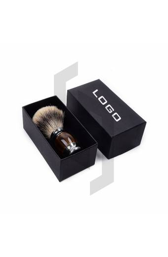 Shaving Brush Packaging with Lid
