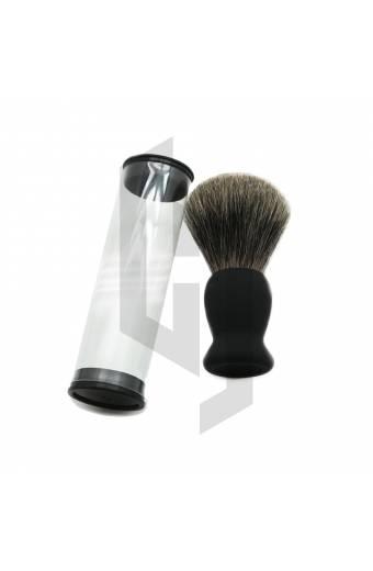 Shaving Brush Plastic Round Packaging