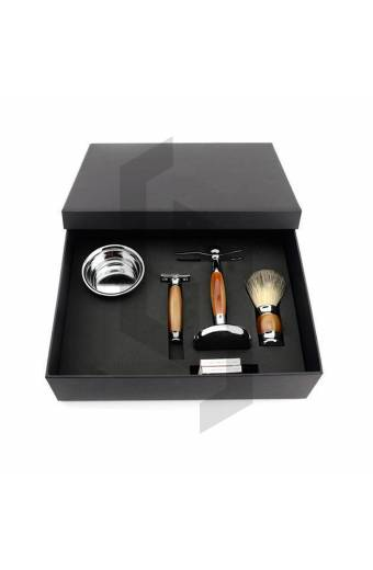 Shaving Set Packaging with Lid