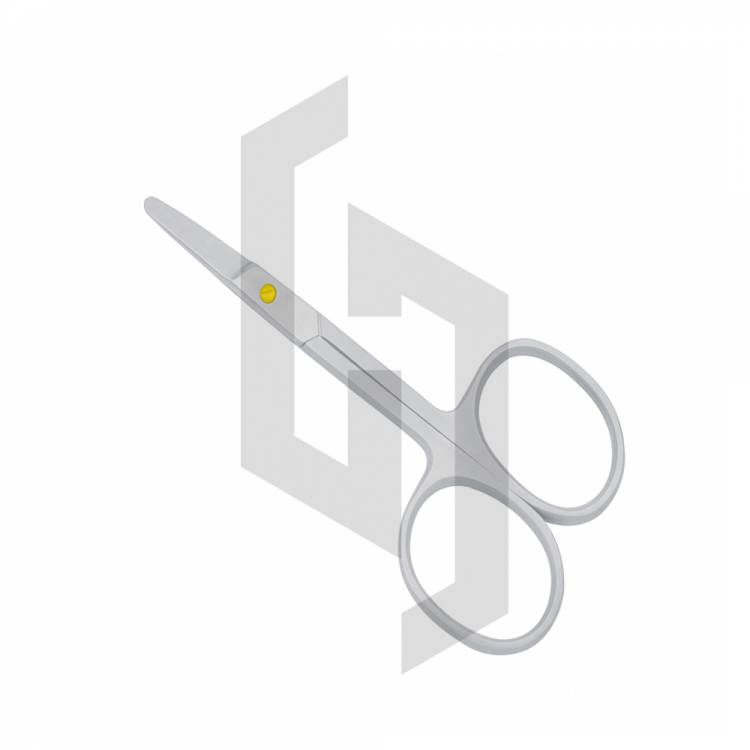 Nose Safety Barber scissors Curved