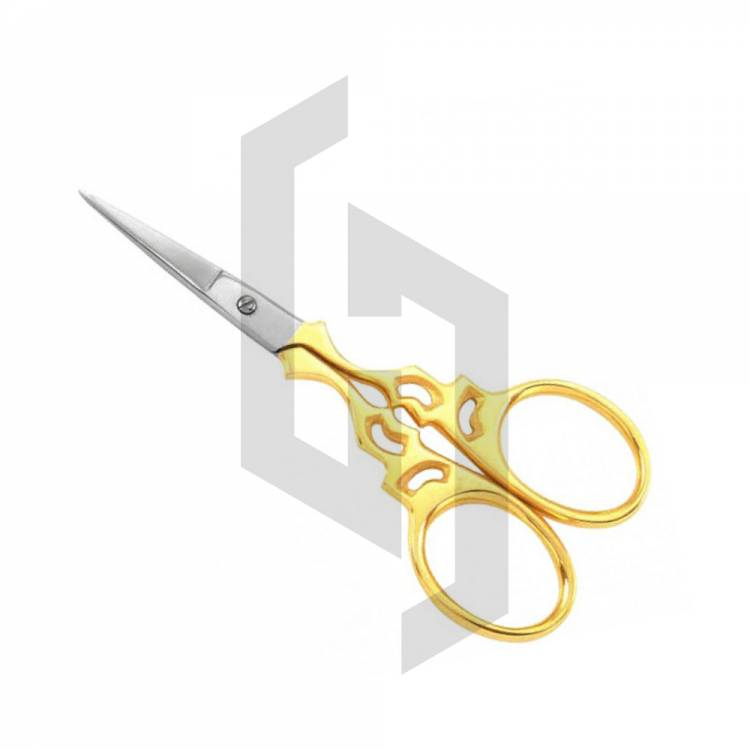 Best Selling Gold Cuticle Nail Scissors