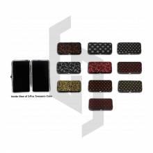Magnetic Texture Case for 3-Pcs Eyelash Tweezers