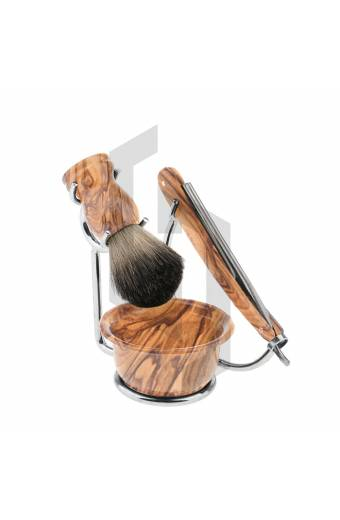 4 Pieces Mens Shaving Set