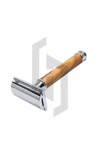 Wood Handle Double Edge Safety Razor