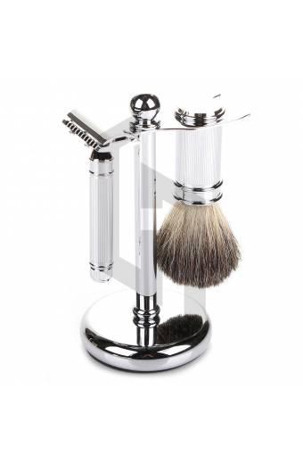 Shave Edge Line Knurling Mens Shaving Kit