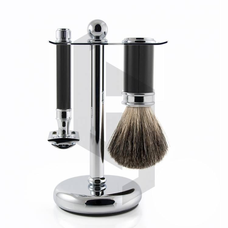 Shave Edge Plain Handle Shaving Set